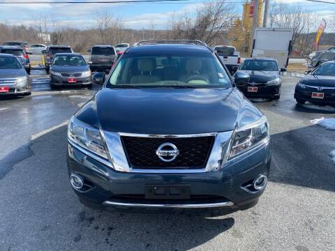 2014 Nissan Pathfinder for sale at Fuentes Brothers Auto Sales in Jessup MD