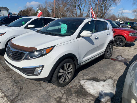 2013 Kia Sportage for sale at PAPERLAND MOTORS in Green Bay WI