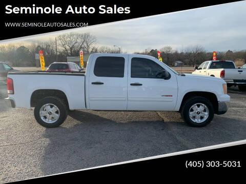 2008 GMC Sierra 1500 for sale at Seminole Auto Sales in Seminole OK