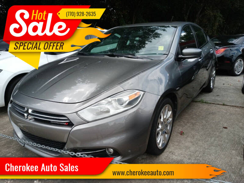 2013 Dodge Dart for sale at Cherokee Auto Sales in Acworth GA