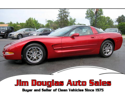2002 Chevrolet Corvette for sale at Jim Douglas Auto Sales in Pontiac MI