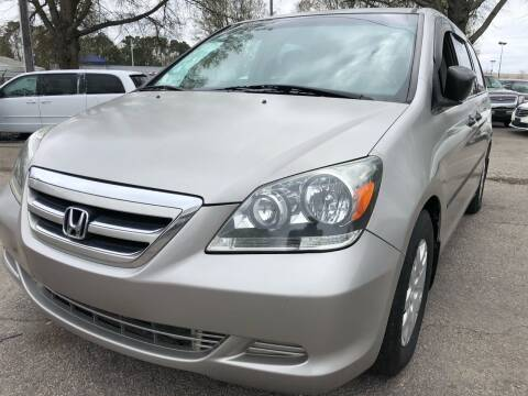 2006 Honda Odyssey for sale at Atlantic Auto Sales in Garner NC