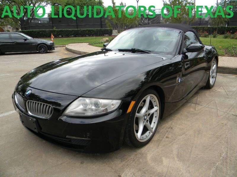 2006 BMW Z4 for sale at AUTO LIQUIDATORS OF TEXAS in Richmond TX