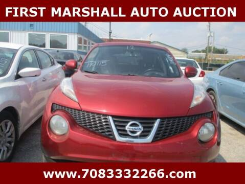 2012 Nissan JUKE for sale at First Marshall Auto Auction in Harvey IL
