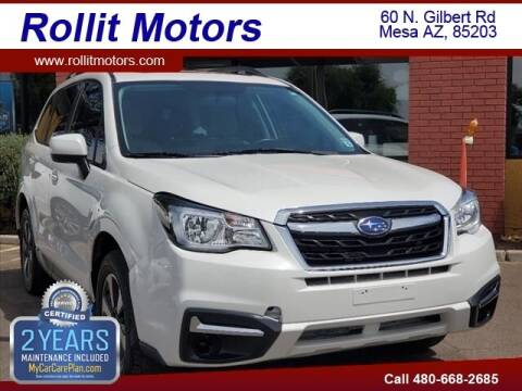 2018 Subaru Forester for sale at Rollit Motors in Mesa AZ