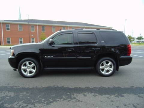 2007 Chevrolet Tahoe for sale at CR Garland Auto Sales in Fredericksburg VA