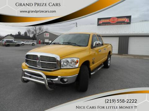2008 Dodge Ram Pickup 1500 for sale at Grand Prize Cars in Cedar Lake IN