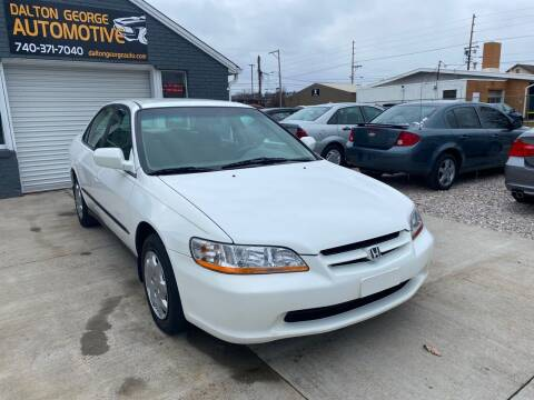 2000 Honda Accord for sale at Dalton George Automotive in Marietta OH
