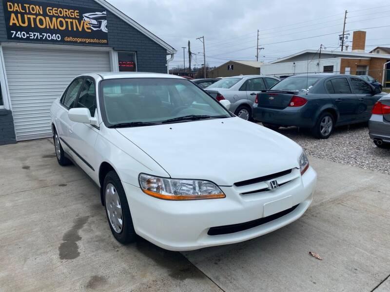 2000 Honda Accord for sale at Dalton George Automotive in Marietta OH