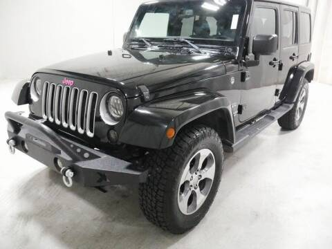 2017 Jeep Wrangler Unlimited for sale at Platinum Car Brokers in Spearfish SD