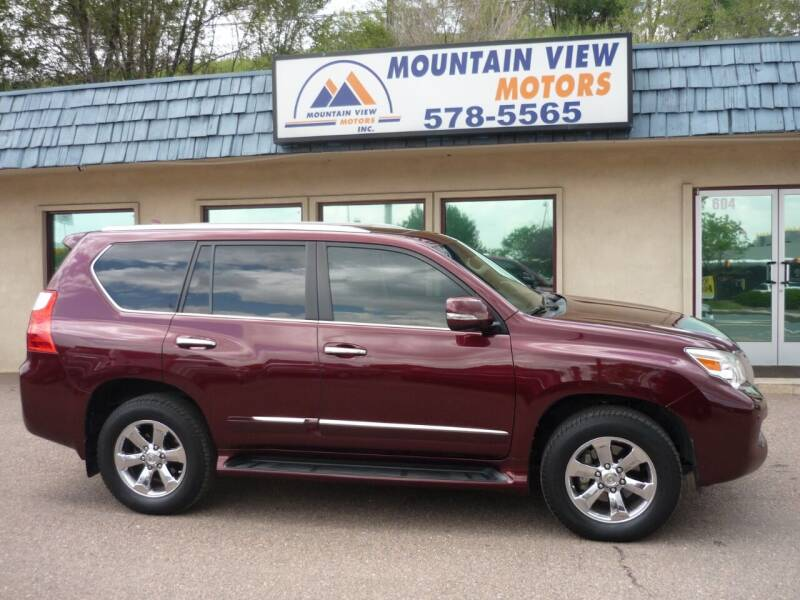 2013 Lexus GX 460 for sale at Mountain View Motors Inc in Colorado Springs CO