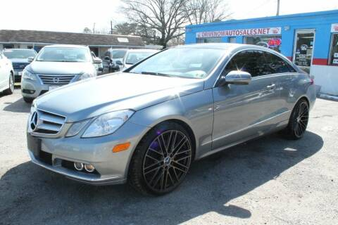 2010 Mercedes-Benz E-Class for sale at Drive Now Auto Sales in Norfolk VA
