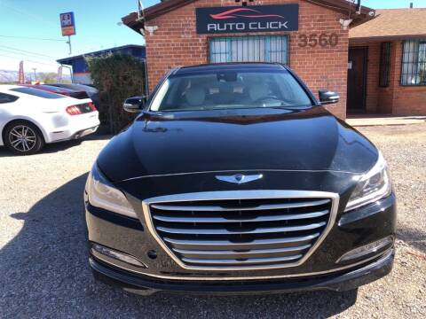 2016 Hyundai Genesis for sale at Auto Click in Tucson AZ