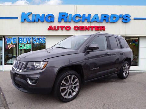 2017 Jeep Compass for sale at KING RICHARDS AUTO CENTER in East Providence RI