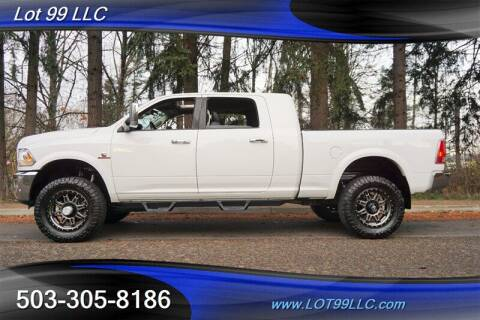 2016 RAM Ram Pickup 2500 for sale at LOT 99 LLC in Milwaukie OR