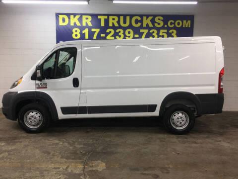 2017 RAM ProMaster Cargo for sale at DKR Trucks in Arlington TX