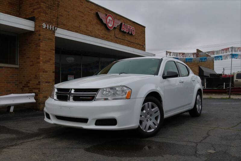 2012 Dodge Avenger for sale at JT AUTO in Parma OH