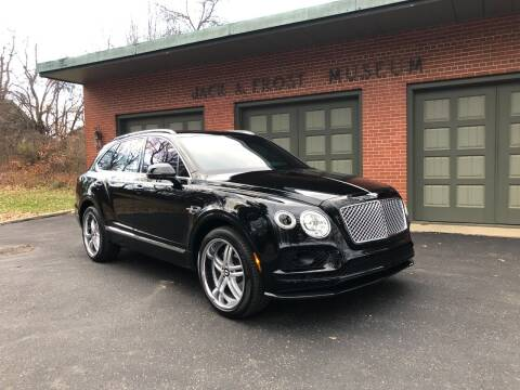 2018 Bentley Bentayga for sale at Jack Frost Auto Museum in Washington MI