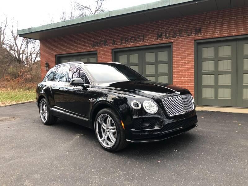 2018 Bentley Bentayga for sale at Jack Frost Auto Museum in Washington MI