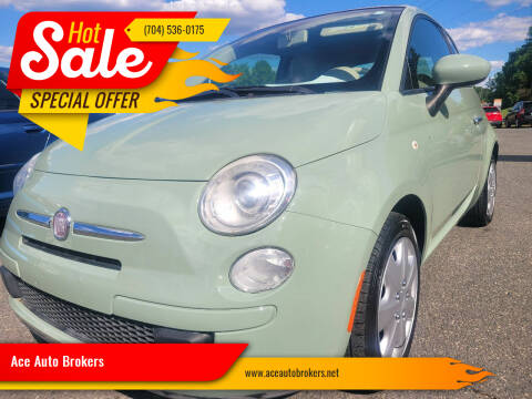 2012 FIAT 500c for sale at Ace Auto Brokers in Charlotte NC