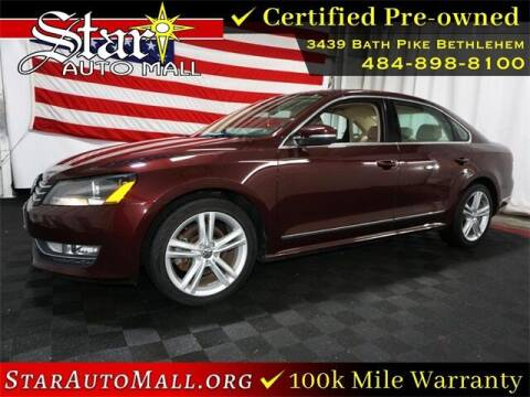 2014 Volkswagen Passat for sale at STAR AUTO MALL 512 in Bethlehem PA