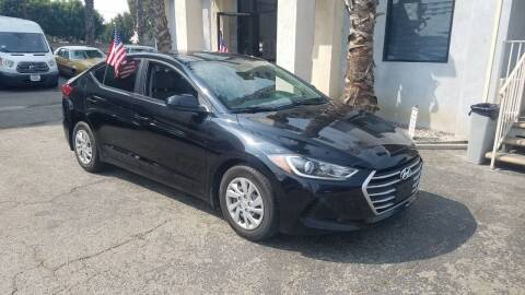 2017 Hyundai Elantra for sale at In-House Auto Finance in Hawthorne CA