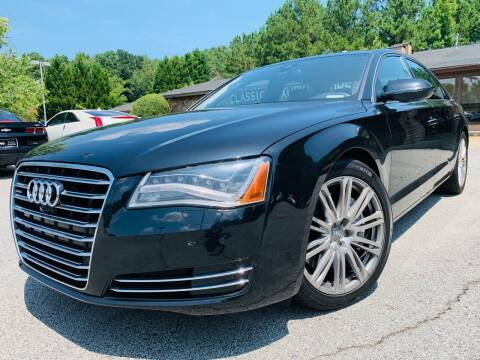 2013 Audi A8 L for sale at Classic Luxury Motors in Buford GA