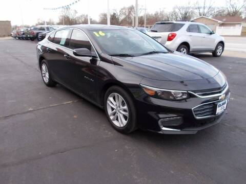 2016 Chevrolet Malibu for sale at Bollman Auto Center in Rock Falls IL