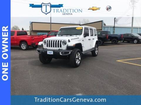 2018 Jeep Wrangler Unlimited for sale at Tradition Chevrolet Buick in Geneva NY