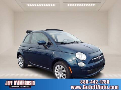 2013 FIAT 500c for sale at Jeff D'Ambrosio Auto Group in Downingtown PA