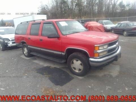 1999 Chevrolet Suburban for sale at East Coast Auto Source Inc. in Bedford VA