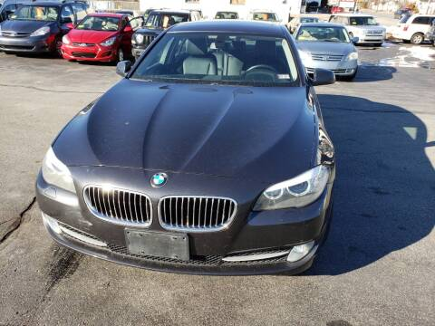 2011 BMW 5 Series for sale at Broadway Motor Sales and Auto Brokers in North Chelmsford MA