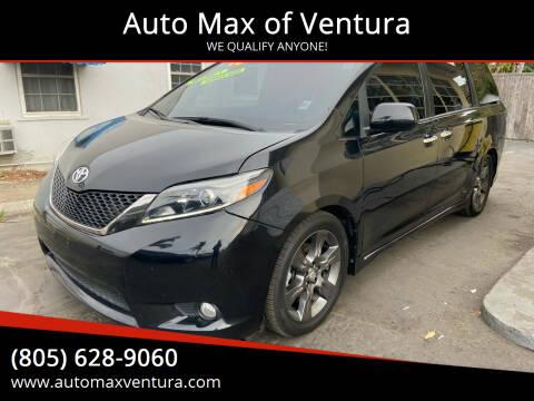 2016 Toyota Sienna for sale at Auto Max of Ventura - Automax 3 in Ventura CA