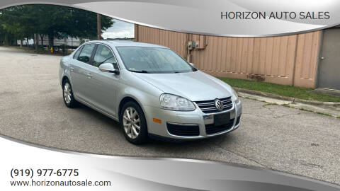 2010 Volkswagen Jetta for sale at Horizon Auto Sales in Raleigh NC
