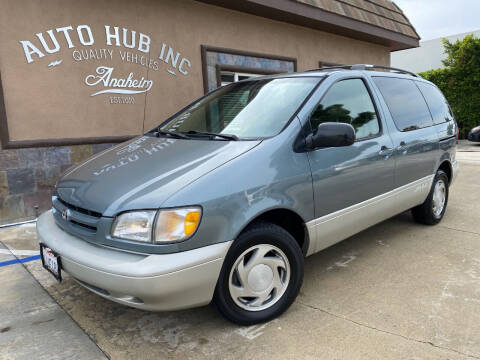 2000 Toyota Sienna for sale at Auto Hub, Inc. in Anaheim CA