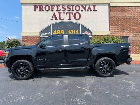 2019 GMC Canyon for sale at Professional Auto Sales & Service in Fort Wayne IN