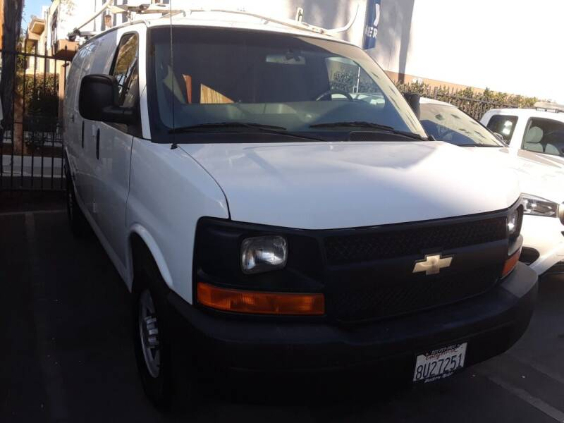 2010 Chevrolet Express Cargo for sale at Western Motors Inc in Los Angeles CA