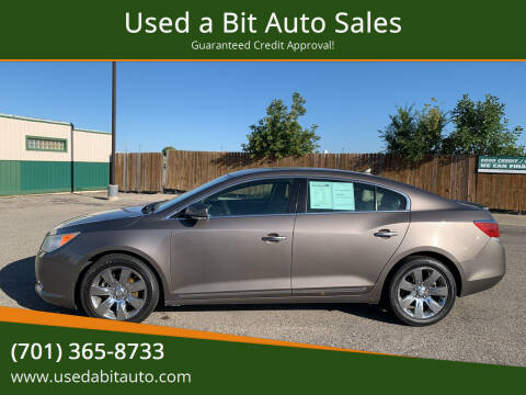 2011 Buick LaCrosse for sale at Used a Bit Auto Sales in Fargo ND