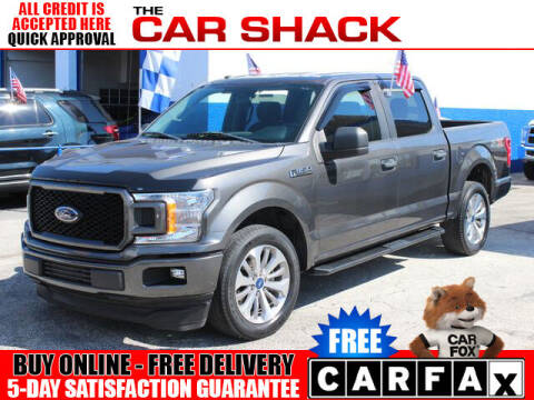 2018 Ford F-150 for sale at The Car Shack in Hialeah FL