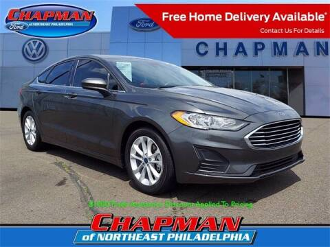 2019 Ford Fusion for sale at CHAPMAN FORD NORTHEAST PHILADELPHIA in Philadelphia PA