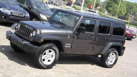 2017 Jeep Wrangler Unlimited for sale at Cars-KC LLC in Overland Park KS