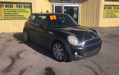 2007 MINI Cooper for sale at Mr. G's Auto Sales in Shelbyville TN