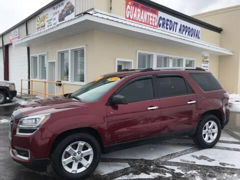 2015 GMC Acadia for sale at Suarez Auto Sales in Port Huron MI