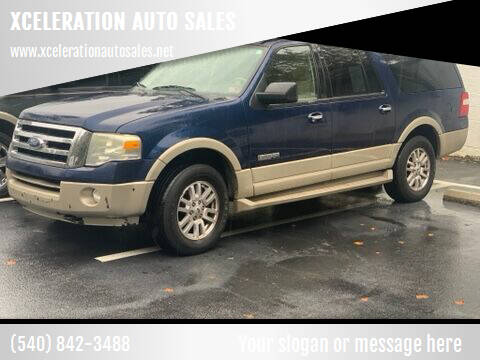 2008 Ford Expedition EL for sale at XCELERATION AUTO SALES in Chester VA