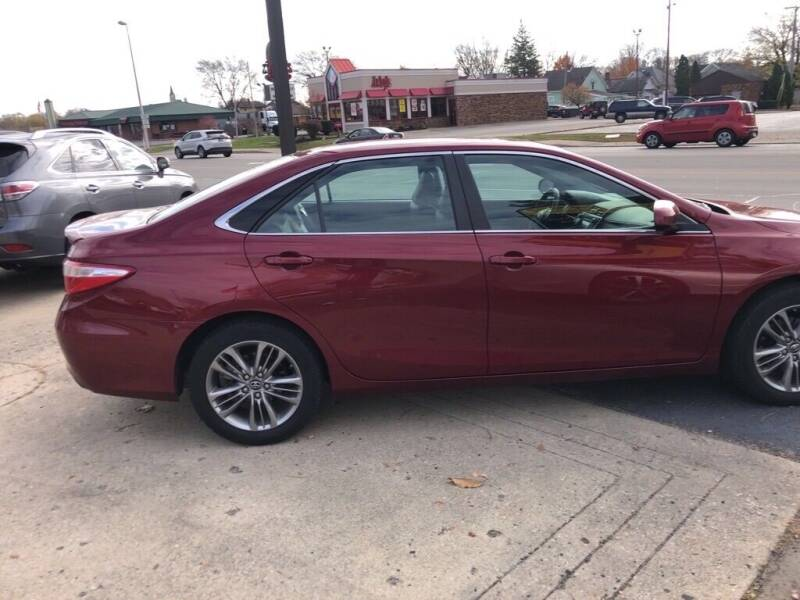 2017 Toyota Camry for sale at Tonys Car Sales in Richmond IN