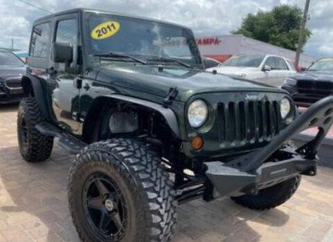 2011 Jeep Wrangler for sale at Cars of Tampa in Tampa FL