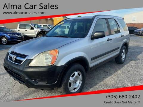 2003 Honda CR-V for sale at Alma Car Sales in Miami FL
