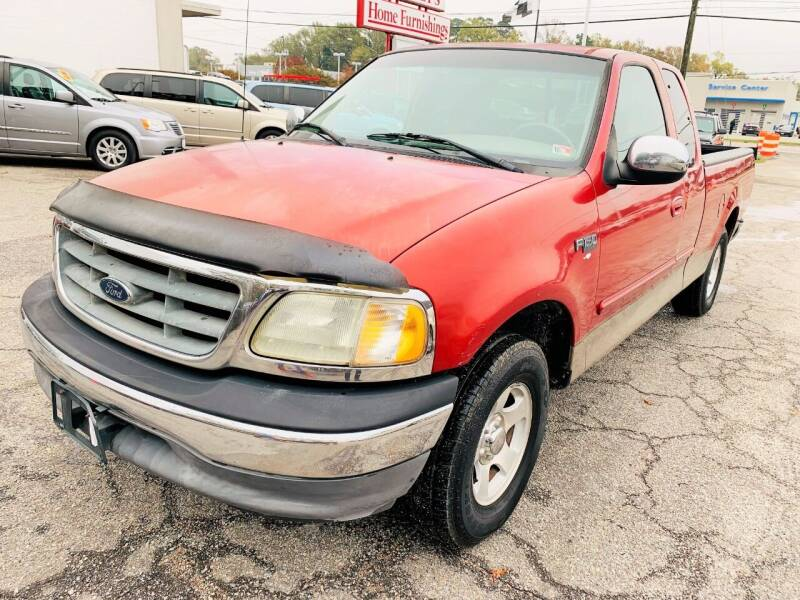 2002 Ford F-150 for sale at Auto Space LLC in Norfolk VA