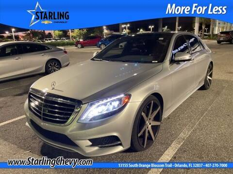 2014 Mercedes-Benz S-Class for sale at Pedro @ Starling Chevrolet in Orlando FL