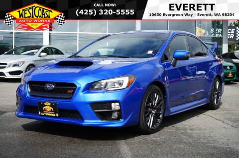 2017 Subaru WRX for sale at West Coast Auto Works in Edmonds WA
